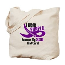 I Wear Purple (Son) 33 PC Tote Bag