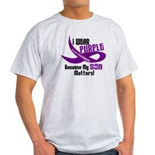 I Wear Purple (Son) 33 PC T-Shirt