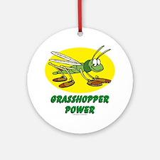 Grasshopper Power Ornament (Round)
