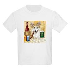 """""""Food Hound"""" - Corgi T-Shirt"""