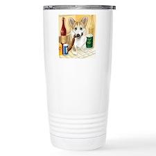 """""""Food Hound"""" - Corgi Travel Mug"""
