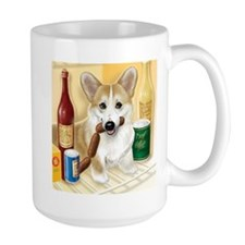 """Food Hound"" - Corgi Mug"