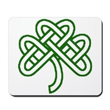 Celtic Knot Shamrock Mousepad