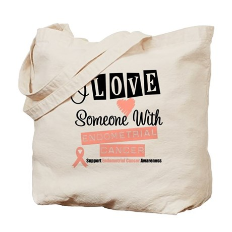 EndometrialCancer Support Tote Bag
