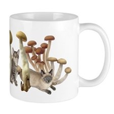 Mushroom Cats Mug