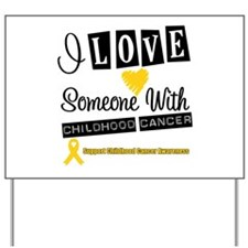 ChildhoodCancer Support Yard Sign