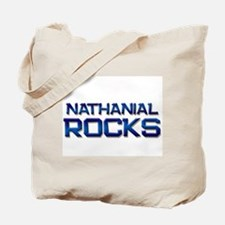 nathanial rocks Tote Bag