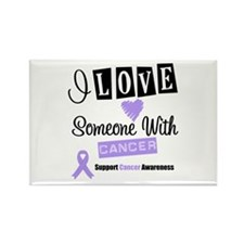 Cancer Support Rectangle Magnet