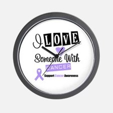 Cancer Support Wall Clock