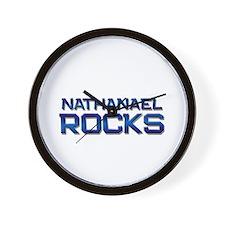 nathanael rocks Wall Clock