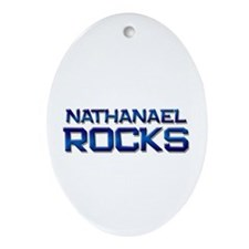 nathanael rocks Oval Ornament