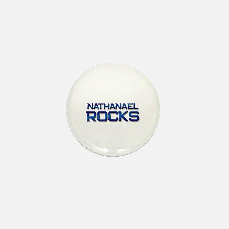 nathanael rocks Mini Button