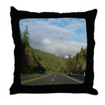 Wish You Were Here Throw Pillow