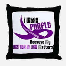 I Wear Purple (Mother-In-Law) 33 PC Throw Pillow