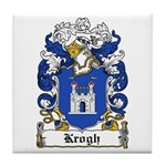Krogh Coat of Arms Tile Coaster
