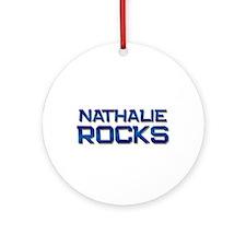 nathalie rocks Ornament (Round)