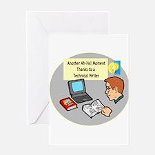 Software Manuals Greeting Card