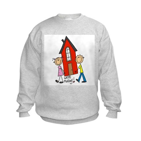 House We're Moving Kids Sweatshirt