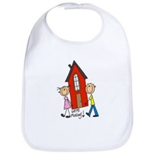 House We're Moving Bib
