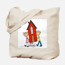 House We're Moving Tote Bag