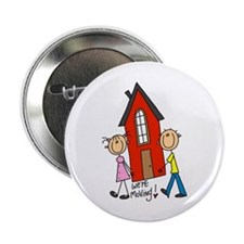 "House We're Moving 2.25"" Button"