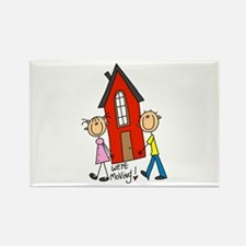 House We're Moving Rectangle Magnet (10 pack)