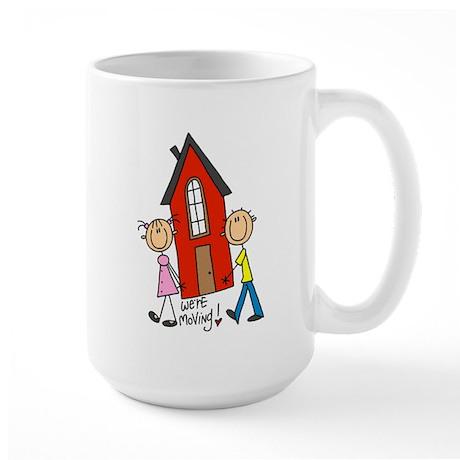 House We're Moving Large Mug