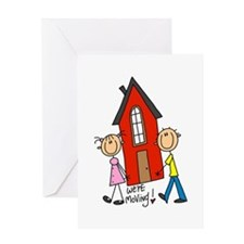 House We're Moving Greeting Card