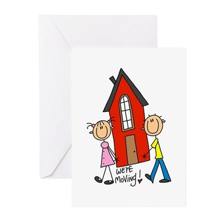 House We're Moving Greeting Cards (Pk of 10)