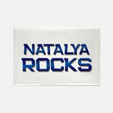 natalya rocks Rectangle Magnet
