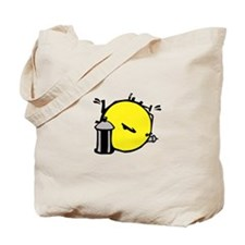 Smiley Tagger Tote Bag