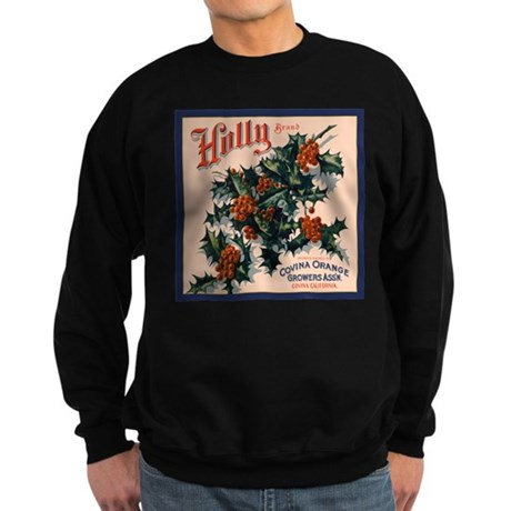 Holly Orange Crate Label Sweatshirt (dark)