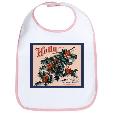 Holly Orange Crate Label Bib