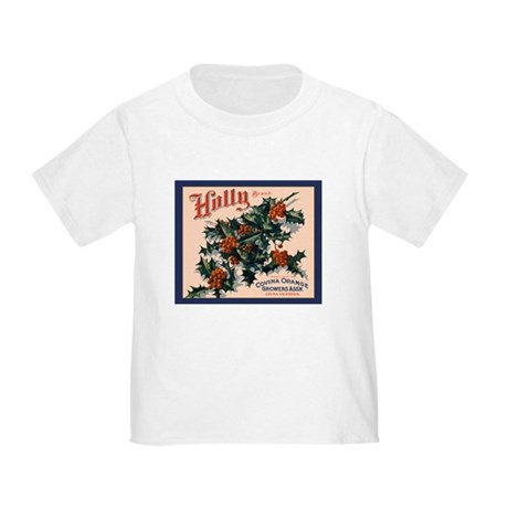 Holly Orange Crate Label Toddler T-Shirt