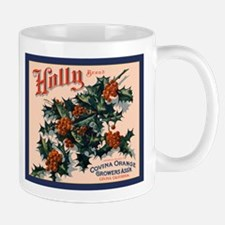 Holly Orange Crate Label Mug