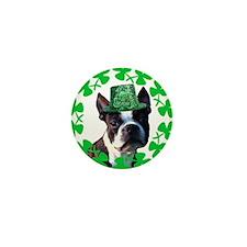 Kiss me I'm Irish Boston terr Mini Button