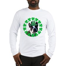 Kiss me I'm Irish Boston terr Long Sleeve T-Shirt