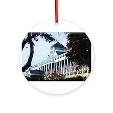 Grand Hotel Ornament (Round)