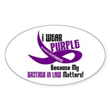 I Wear Purple (Brother-In-Law) 33 PC Decal