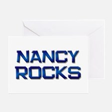 nancy rocks Greeting Card