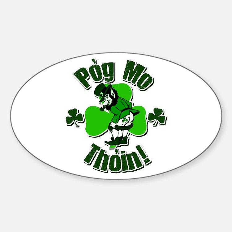 Pog Mo Thoin Oval Decal