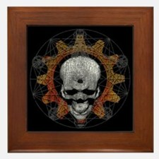 Gear Skull [d]: Framed Tile