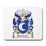 Krumme Coat of Arms Mousepad