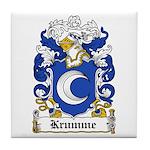 Krumme Coat of Arms Tile Coaster