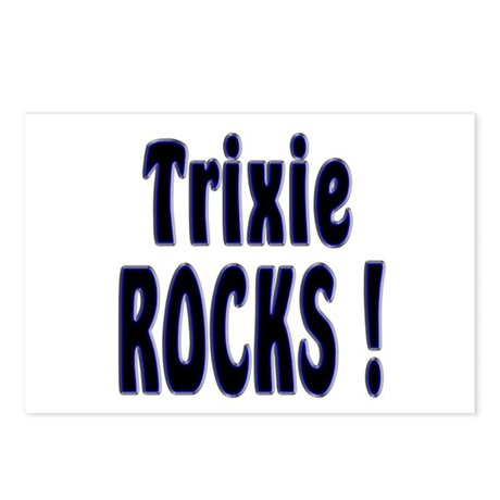 Trixie Rocks ! Postcards (Package of 8)