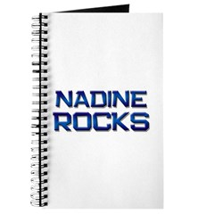 nadine rocks Journal