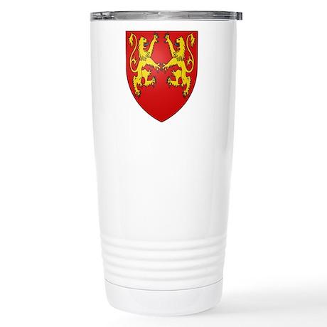 Richard the Lionheart Stainless Steel Travel Mug
