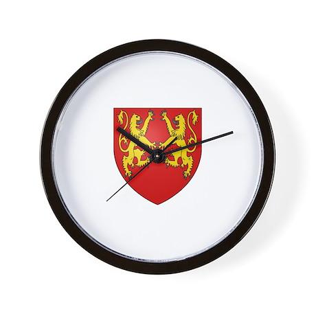 Richard the Lionheart Wall Clock