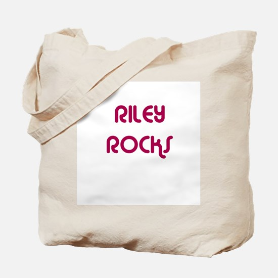 RILEY ROCKS Tote Bag