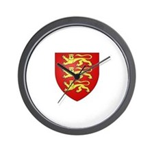 Medieval England (3 lions) Wall Clock